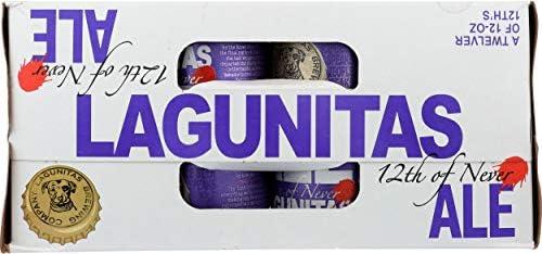 Lagunitas - Cerveza Americana IPA 12th Of Never, 12 x 355 ml: Amazon.es: Alimentación y bebidas