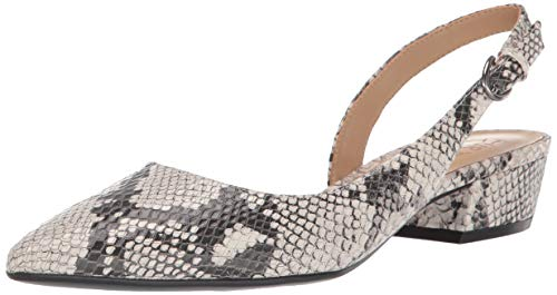 Naturalizer Women's Banks Pump, Alabaster Snake, 10 M US