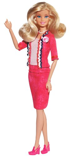 Barbie I Can Be U.S.A. President Barbie Doll