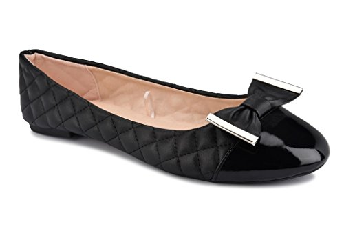 Quilted Ballet Flats Shoes - 3