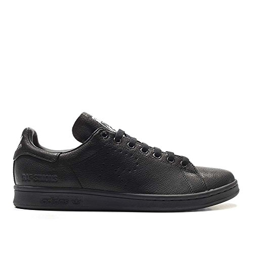Adidas hombre  Raf Simons Stan Smith aged negro / blanco Leather Core