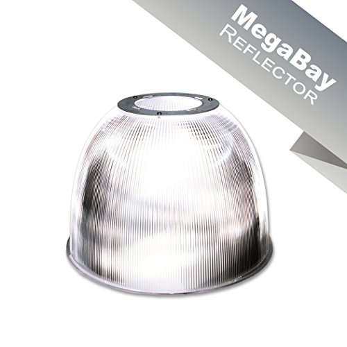Enpower Megabay Acrylic, Clear Finish, LED High Bay Reflector (Multi-Colored)