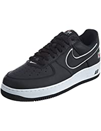 sports shoes 198bf 1ff00 Mens Air Force 1 Low Emblem Shoes Black White AJ9502-001 Size 13 · Nike
