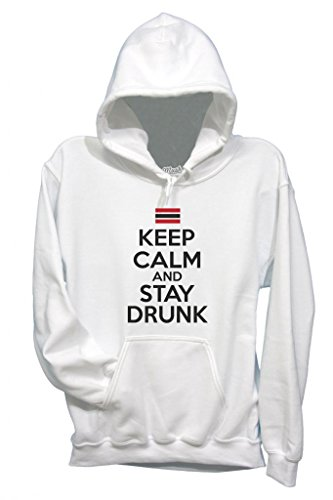 Sweatshirt Keep Calm And Stay Drunk - Lustig By Mush Dress Your Style