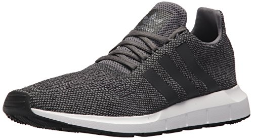 adidas Originals Men's Swift Running Shoe, Grey/Black/White, 11 M US