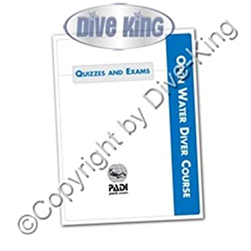 PADI Open Water Diver Quizzes and Exams - Metric/Imperial - 71023G