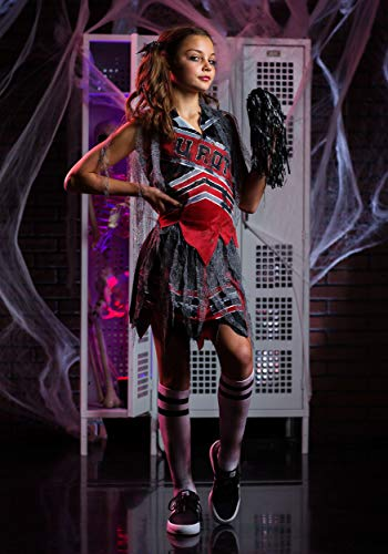 Dead Prom Queen Costume Kids (Spiritless Cheerleader Kids Costume -)