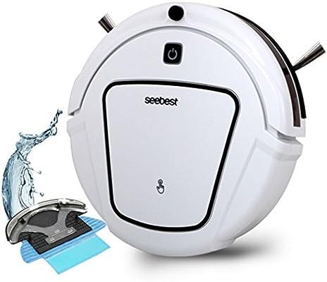 CCYOO D730 Momo 2,0 Robot Aspiradora con Mojado/Seco Trapeador ...