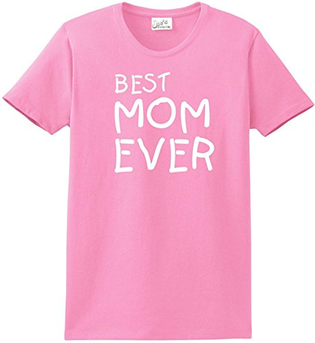 - Joe's USA tm - Best Mom Ever T-Shirts -Great Mothers Day Shirts-L