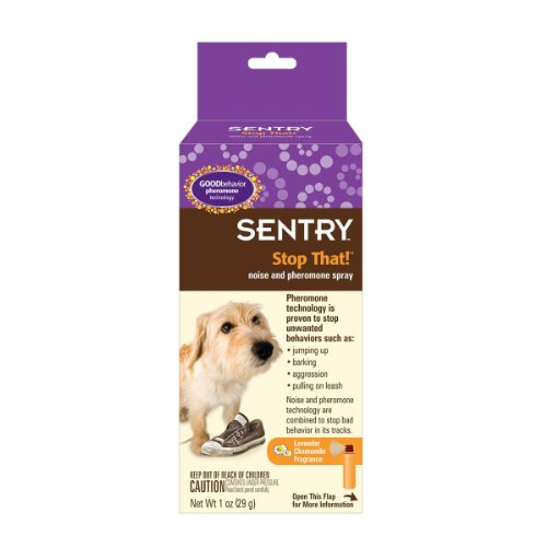 Sentry Stop That Noise and Pheromone Spray for Dogs, 1-Ounce, My Pet Supplies