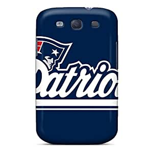 First-class Cases Covers For Galaxy S3 Dual Protection Covers New England Patriots