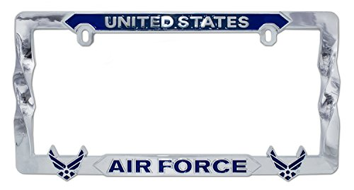 Elektroplate United States Air Force Blue Wings 3D License Plate Frame