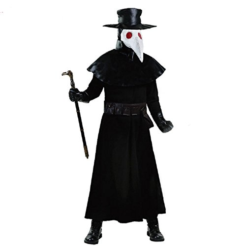 Bird Costume Makeup (Mocona Halloween costumes show the plague doctor bird clothing)