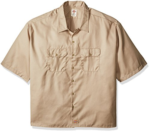 Dickies Men's Big and Tall Short-Sleeve Work Shirt, 6 XL