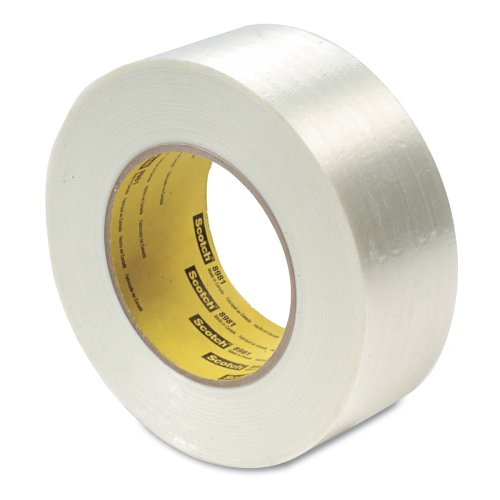Scotch Filament Tape 898 Clear, 24 mm x 55 m (Pack of 1) from Scotch
