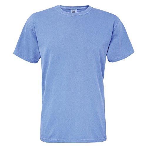 Mostarda Tessuto Colors Heavyweight Corte A Comfort Maniche Uomo Maglietta XwO8pqp7xa