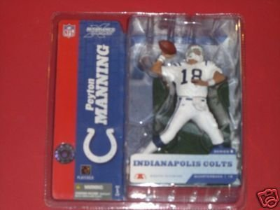 Peyton Manning#18 Indianapolis Colts White Uniform Chase Alternate Variant Action Figure McFarlane NFL Series 8 by McFarlane Toys by Unknown