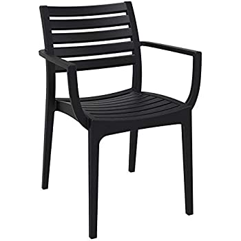 Amazon.com : Compamia Artemis Outdoor Dining Arm Chair