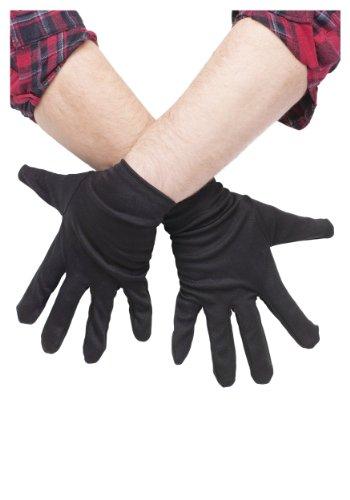 Plus Size Black Gloves (Standard)