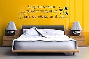 """home quote sticker arte pared decoracion (6"""" x 23""""): Home & Kitchen"""