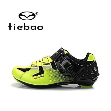 quickcor (TM) - Tiebao zapatillas de ciclismo bicicleta de ...