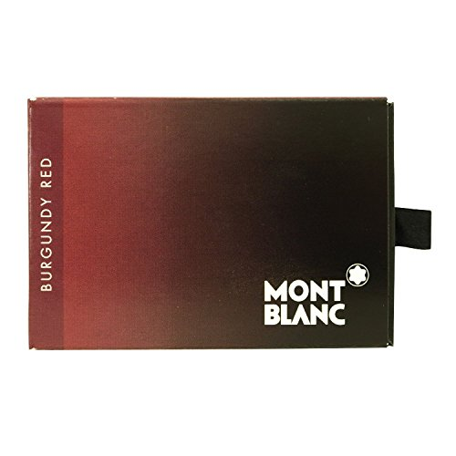 Montblanc Burgundy Red New Ink Cartridge 2010 Refill