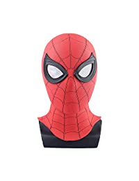 Haho Spider-Man Homecoming Mask,Spiderman Hood Mask Helmet Hero Classic Costume Cosplay