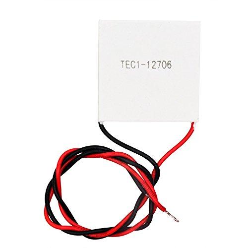 OLatus TEC1-12706 12V 6A 40 * 40MM TEC semiconductor Thermoelectric Cooler Peltier (TEC1-12706)