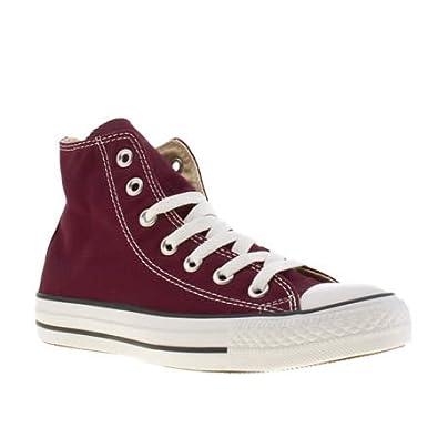 370ee7e23f4f Converse All Star Hi - 5 Uk - Burgundy - Fabric  Amazon.co.uk  Shoes   Bags