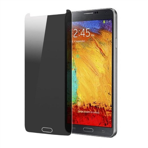 Josi Minea® Privacy LCD Anti-Spy Screen Protector Film Guard Cover Shield for Samsung Galaxy Note 3 / Note III / N9000 - Retail Packaging