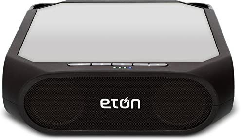 Eton Rugged Rukus Rechargeable & Solar Powered Wireless Bluetooth