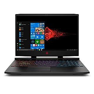 OMEN by HP 15.6 Inch Laptop i7-8750H Processor, GeForce GTX 1060 FHD 16GB RAM, 1TB HDD & 128GB PCIE SSD, Windows 10, (15-dc0030nr, Black), Metal Chassis (Renewed)