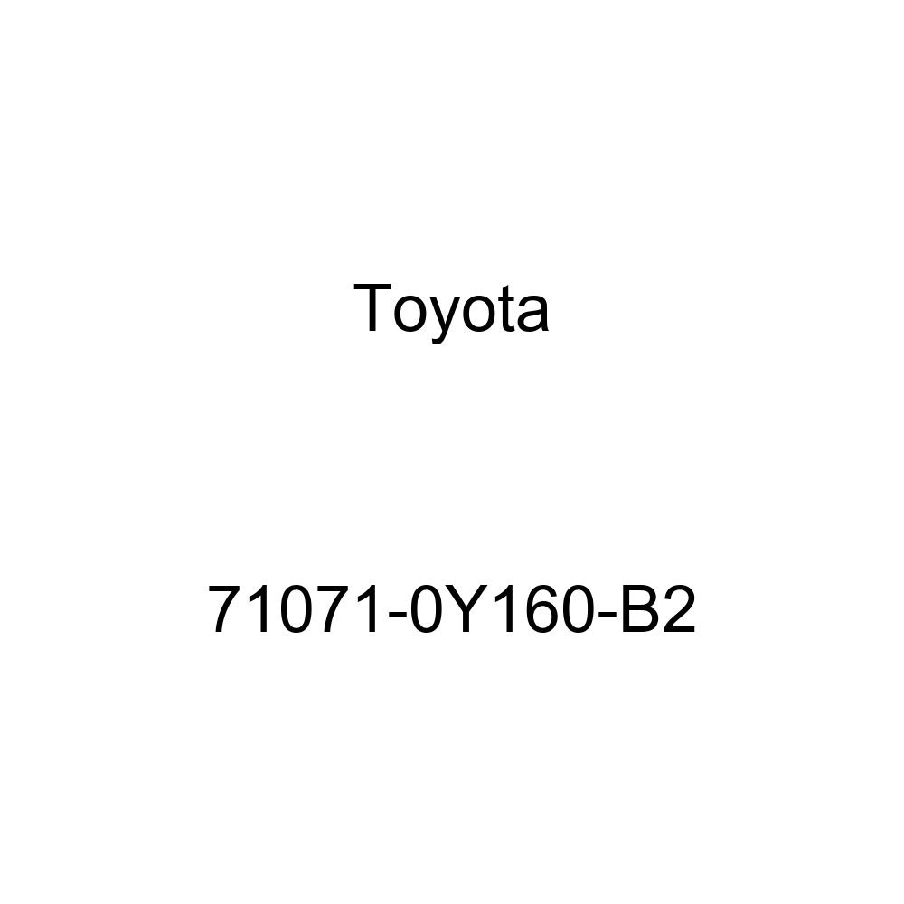 TOYOTA Genuine 71071-0Y160-B2 Seat Cushion Cover