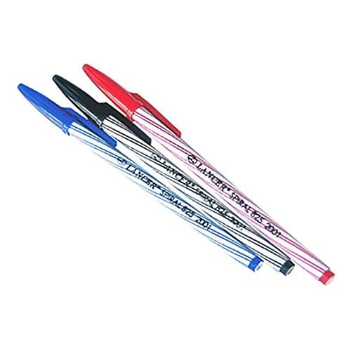 Anastasia 4 Light Pendant (Lancer Spiral Professional Ballpoint Pen 0.5 mm, 4 Blue, 4 Black, 4 Red)