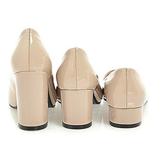 Mujer Bombas 5cm 2 Coolcept Beige Sin Zapatos Cordones qdnvtOz