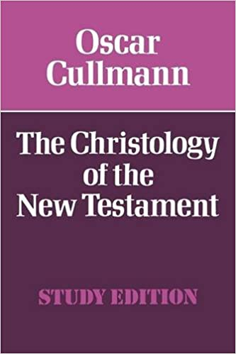 Image result for cullmann The Christology of the New Testament