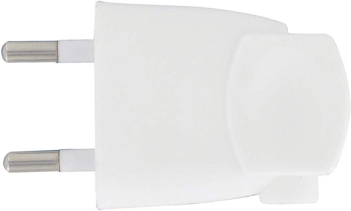 Fiche femelle anneau Blanc 16A 2P+T Zenitech