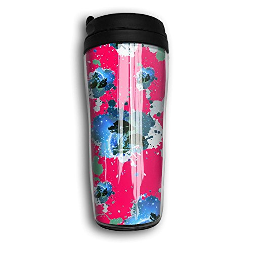 Curve Tumbler (Bonsai Tree Icon Galaxy Home ABS Plastic Cup Printed Curve Insulated Cup)