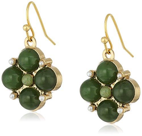 1928 Jewelry Gold Tone Semi Precious Moonstone product image