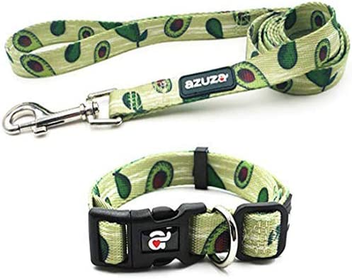 azuza Collar Adjustable Matching Avocado