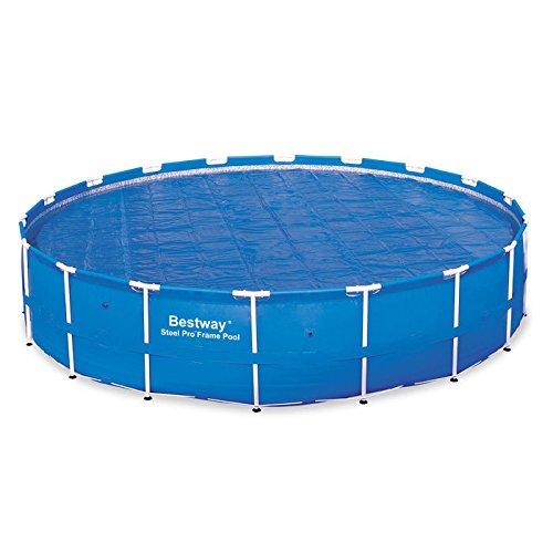Bestway 58173 Solar Pool Cover, 18-Feet 58173-14