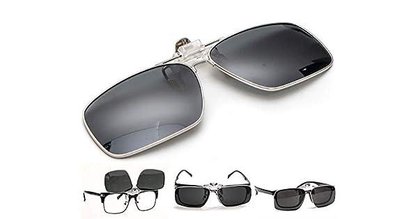 4c768781cb Elegante borde polarizadas anteojos de sol de conducción con función de con  tapa, antirreflectante antideslumbrante UV400 protección UV, ...