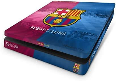 Official Barcelona FC PS4 Slim Console Skin and 2x Controller Skin ...