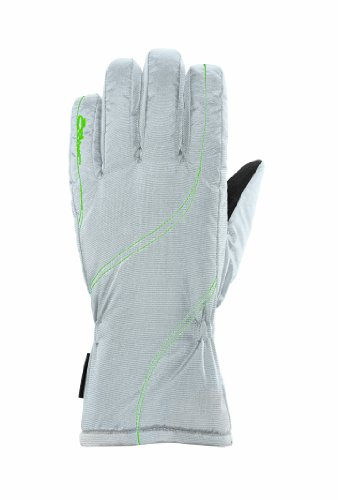 Seirus Innovation Women's Heatwave MsBehave Gloves, White/Lime, - Microfiber Seirus Gloves