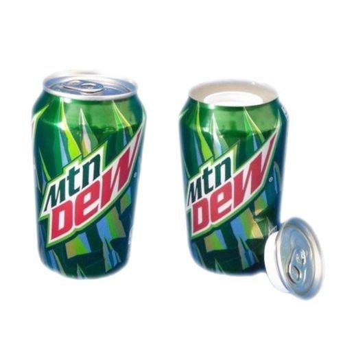 Green Dew 12oz Soda Can Safe Hidden Storage Secret Diversion Stash (Safe Secret Storage)