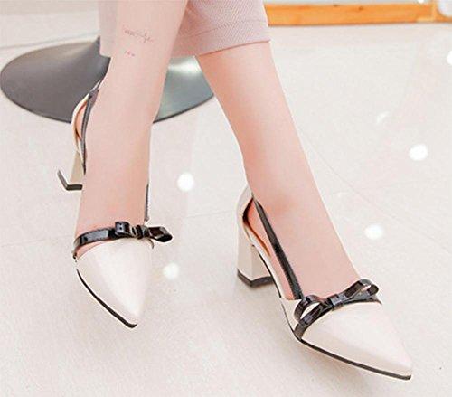 Sommer Sandalen zeigte Bogen Tasche Damen Sandalen Frauen Schuhe meters white