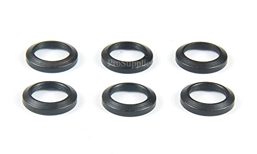 TACFUN 6 PCS Steel Crush Washers for 1/2