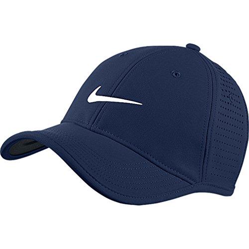 Nike Herren Ultralight Tour perforierte Cap-Midnight Navy/Midnight Navy/Weiß