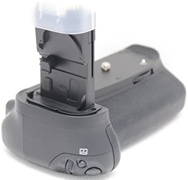 Empuñadura de batería para Canon EOS 70D: Amazon.es: Electrónica