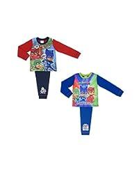 2 Pack PJ Masks Boys Pyjamas 4 Piece Size 18 Months - 5 Years